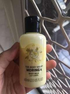 The Body Shop Body Milk Moringa