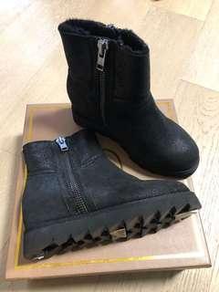 Ash 毛毛平底鞋