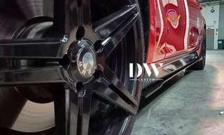 BMW F30 Custom Made Side diffuser / Side skirt extention (Taiwan PP)