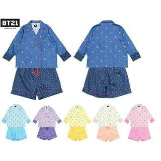 [PO] BT21 Pyjamas Set