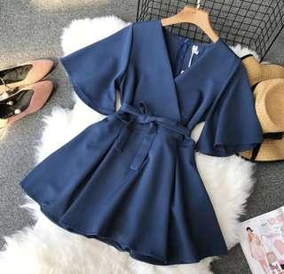 🚚 Kimono Dress Ribbon