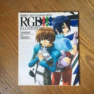 🚚 Gundam Seed Art Book