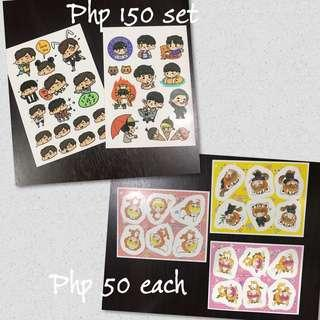Infinite unofficial stickers