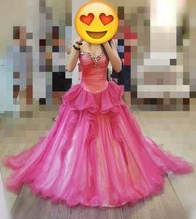 Wedding Gown / Pre-wedding Gown / Pink Gown