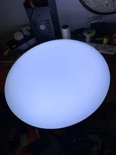Moving out SALE! LED ceiling light 24w 36cm base daylight