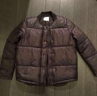 Urban outfitters black puffer jacket (price dropped)