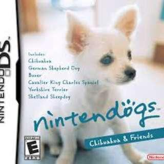 Orig Nintendogs Chihuahua & friends