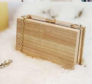 預訂款 木製文青森林系手袋