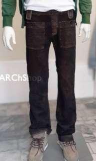 Diesel 絕版復古風格直筒牛仔褲w28