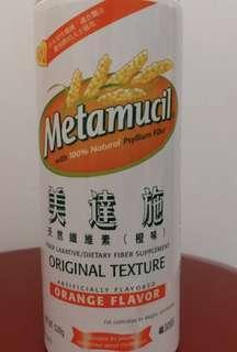 美達施 橙味 metamucil 腸胃