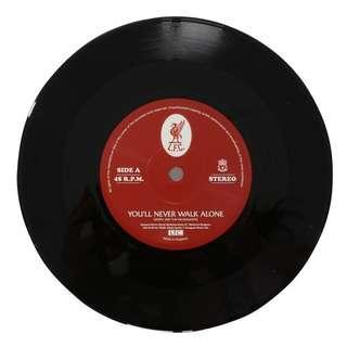 "🚚 ""LFC You'll Never Walk Alone 7"""" Vinyl Record"""