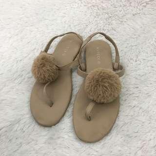 VNC Sandals Fur