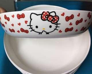 Hello kitty plates