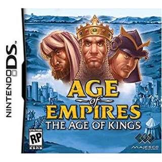 Orig Age of Empires, The Age of Kings SWIPE PHotos