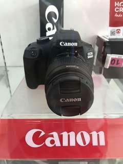 Canon EOS 3000D Bisa Kredit Promo 0%