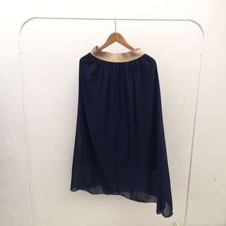 Chiffon Skirt with 3/4 Lining