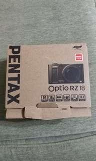 🚚 PENTAX Optio RZ18相機
