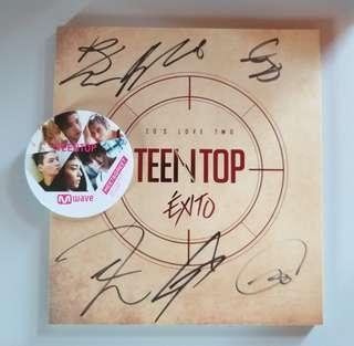 [AUTOGRAPHED] TEEN TOP - EXITO 20's Love Two