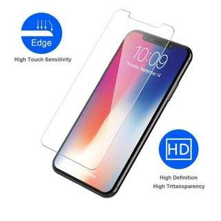 iPhone X/XS 0.2mm Tempered Glass Screen Protector [2 Pieces]