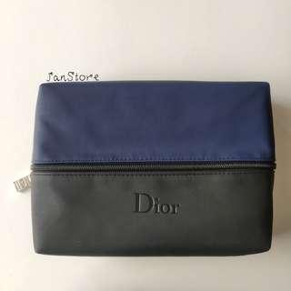 Authentic Dior Beauty Gift Sanitary Makeup Toiletry Pouch