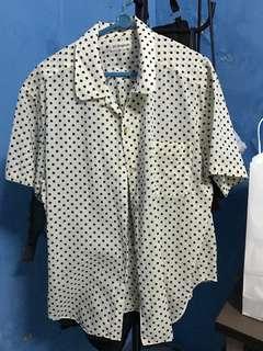 Polka Shirt oversized