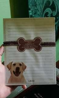 Dog-Lover Notepad - Labrador Notepad - Stationery - Gift for teens - gift for girls - Labrador notepad