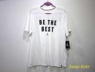 Jordan Rider 喬丹騎士 NIKE Air Jordan Beat Be The Best Tee AJ 白黑色紅飛人短袖T恤 AJ 6代 7代