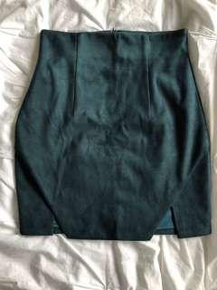 Sheike Skirt - Emerald Green