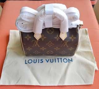 Louis Vuitton hand bag, nano speedy