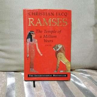 RAMSES The Temple Of A Million Years By Christian Jacq