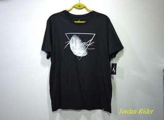 Jordan Rider 喬丹騎士 NIKE Air Jordan Lunar Tee AJ 4代 Flight 月球 全黑白色飛人短袖T恤