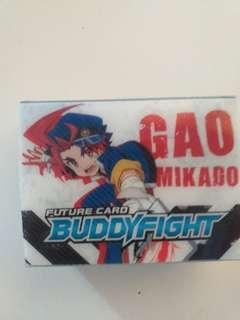 Buddyfight card holder