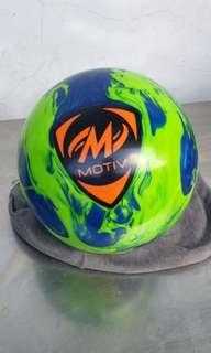🚚 14lbs motiv tag canon bowling ball