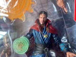 Marvel legends avengers infinity war 3 pack box set Dr stange 一隻