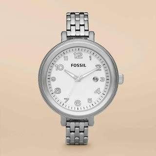 Fossil Bridgette Stainless Steel Watch AM4305