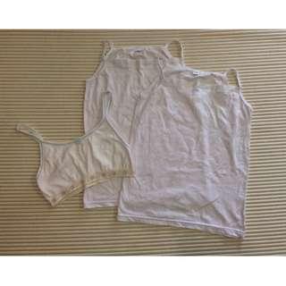 [Buy 5 for RM15] Inner wear / Singlet For Teenage girls