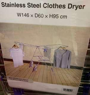 Stainless Steel Clothes Drying Rack ( Medium)