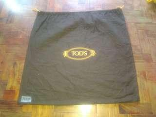 Authentic Tods Dust Bag Large