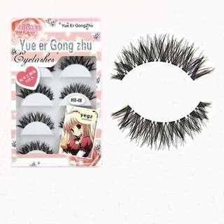 wispies long cross natural extension falses lashes eyelashes