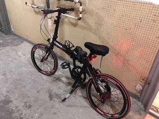 Trinx 摺車 單車 21寸摺車