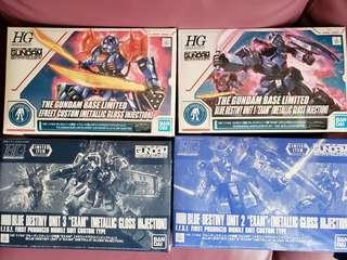 1/144 HG metallic gloss injection BD 1,2,3,efreet