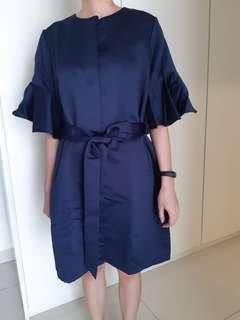 Ats the label Navy Dress