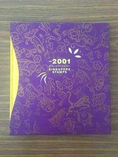 Liquidation Sale - The 2001 Collection of Singapore Stamp Album New