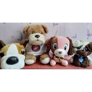 TAKE ALL -Cute Dogs Stuffed Toys