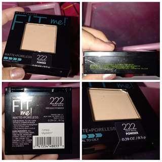 [FREE ONGKIR] + [NEW] Maybelline Fit Me Pressed Powder