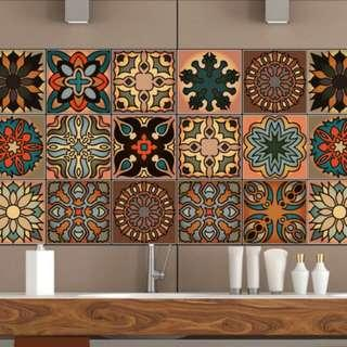 Morrocan Tile Stickers