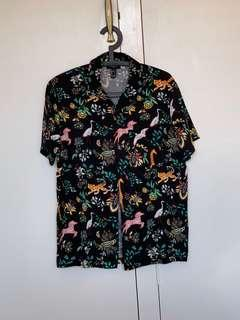 Funky shirt - lots of animals