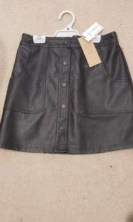 Cotton on black skirt size small