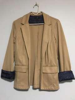 Dark beige blazer