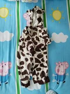 嬰兒牛牛夾衣 size 90